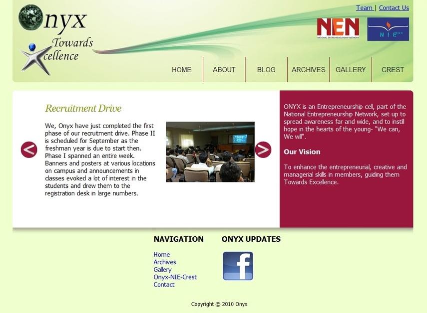 A great web design by TripleW Inc, Mysore, India: