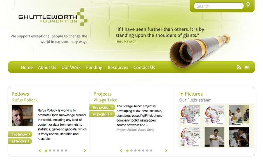 A great web design by the-colab.com, Cape Town, South Africa: