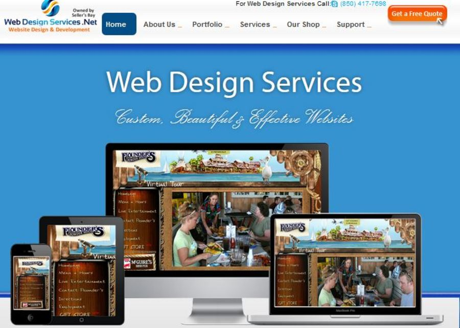 A great web design by Seller's Bay, Los Angeles, CA: Website, E-Commerce , Internet , Joomla