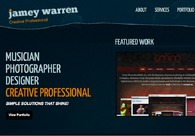 A great web design by Jamey Warren, Bozeman, MT: