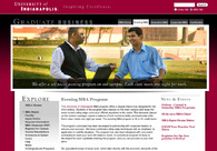 A great web design by Greg Albright Design, Indianapolis, IN: