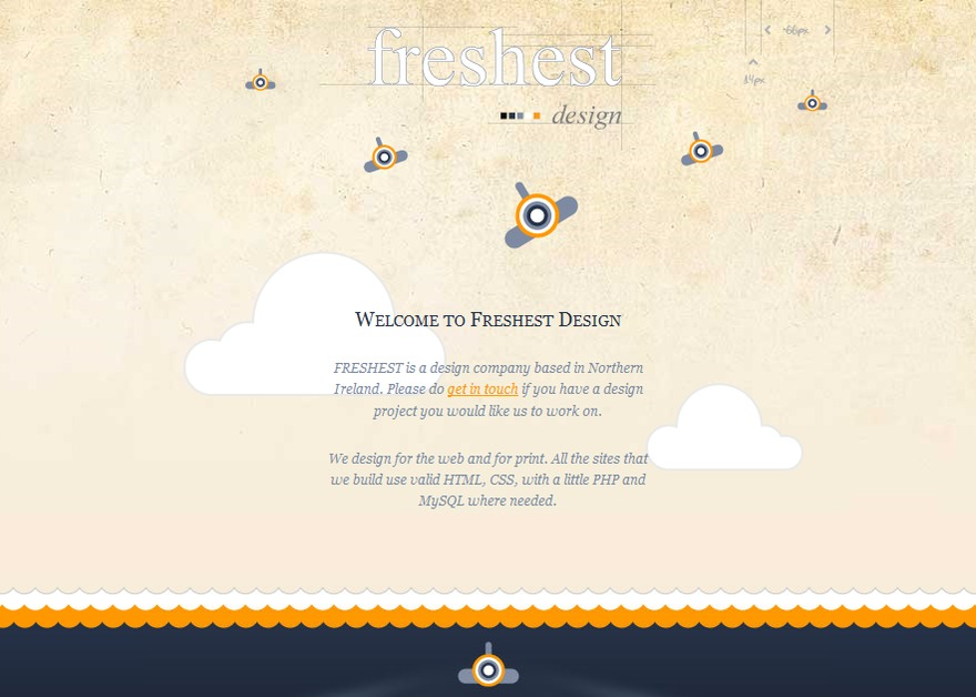 A great web design by Freshest Design, Belfast, United Kingdom: