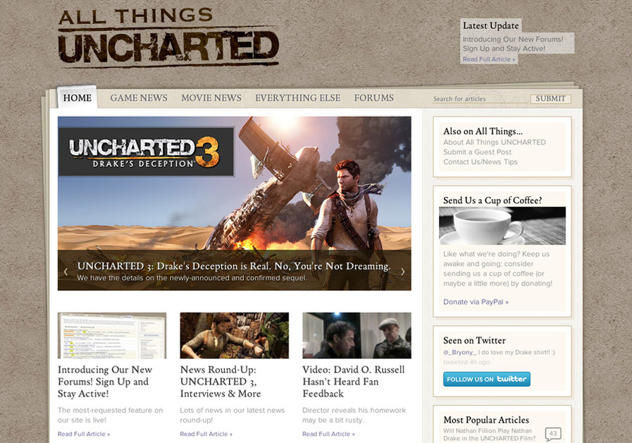 A great web design by Salted Slug, Fort Lauderdale, FL: