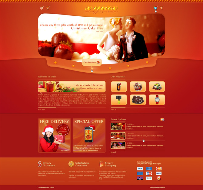 A great web design by Nithin Raju Chandy, New York, NY: