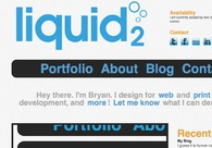 A great web design by liquid2 - Bryan Reed, Raleigh, NC: