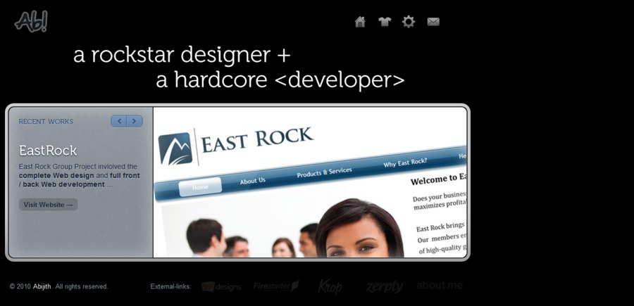 A great web design by Ab! Designs and Development, Trivandrum, India: