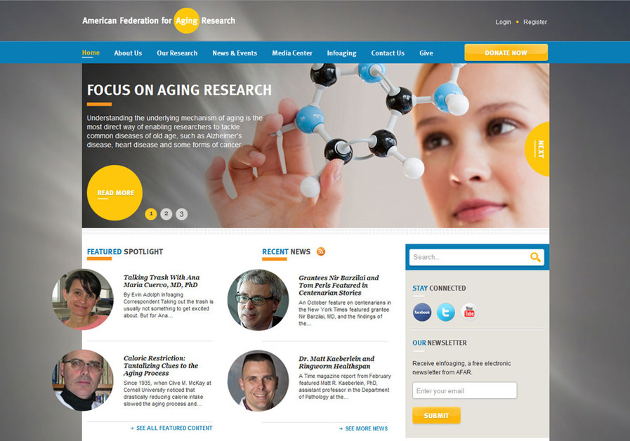 A great web design by MAVEN INTERACTIVE, Chicago, IL: