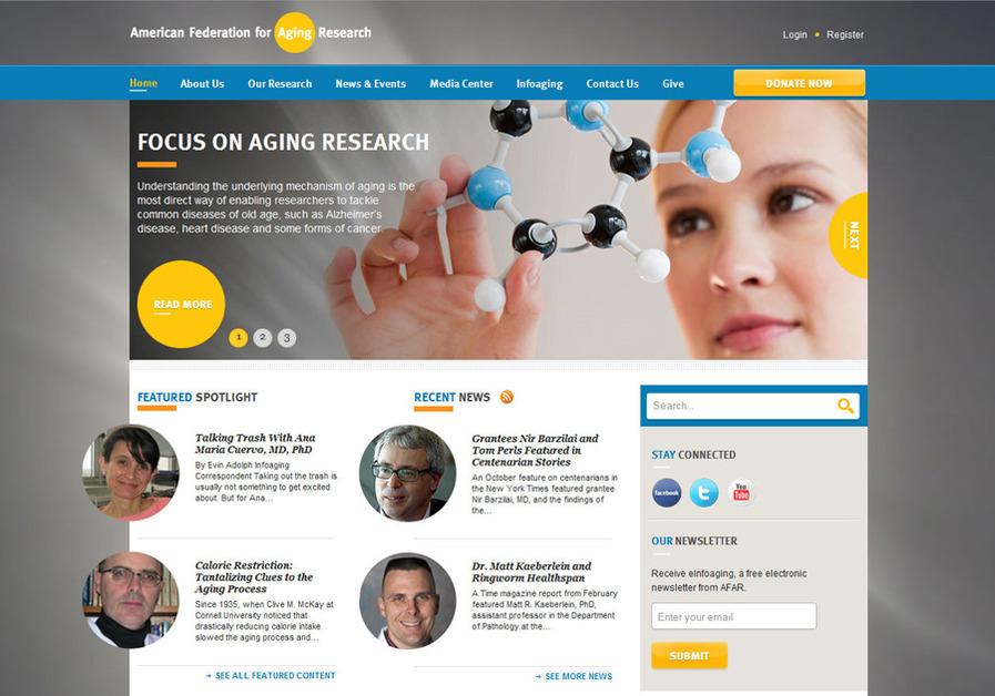 A great web design by MAVEN INTERACTIVE, Chicago, IL: