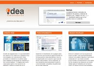 A great web design by Idea y Comunicación, Madrid, Spain: