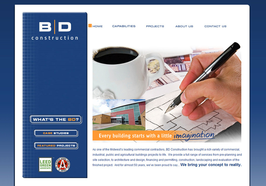 A great web design by Eureka Interactive, St Louis, MO: