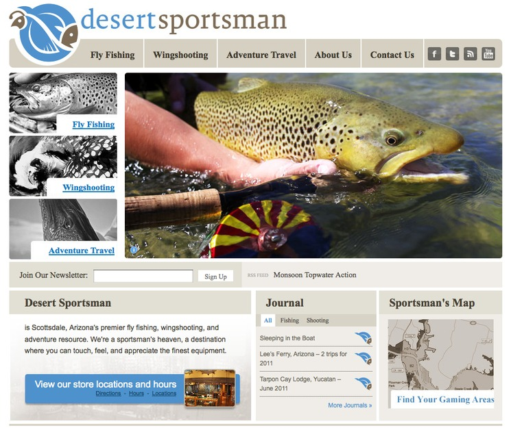 A great web design by MECSB, Phoenix, AZ: