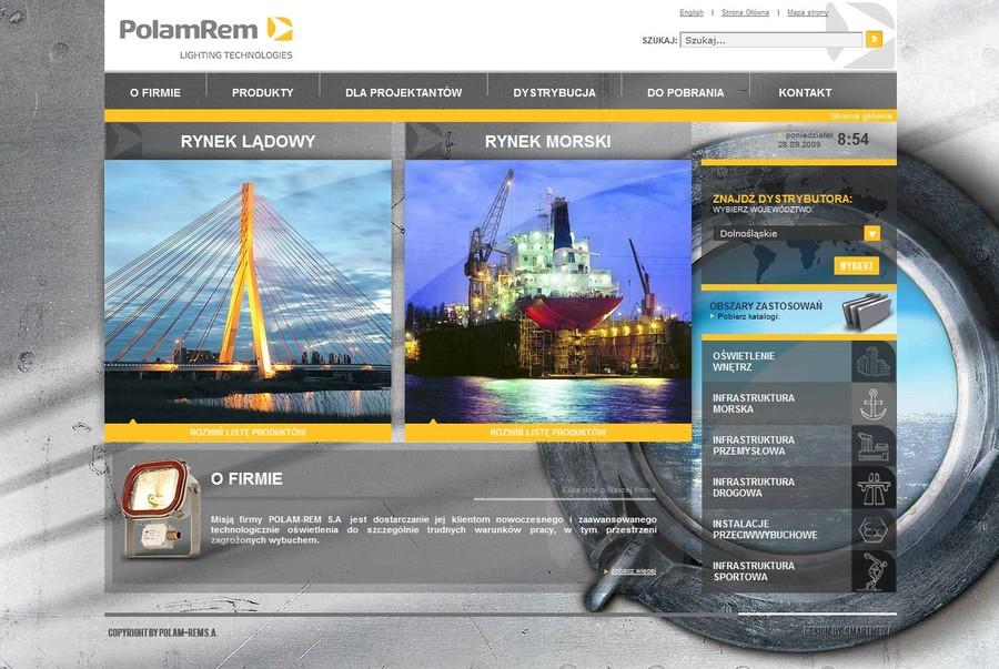 A great web design by LemonMind.com, Gdansk, Poland: