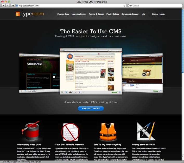 A great web design by Ian Silber, San Francisco, CA: