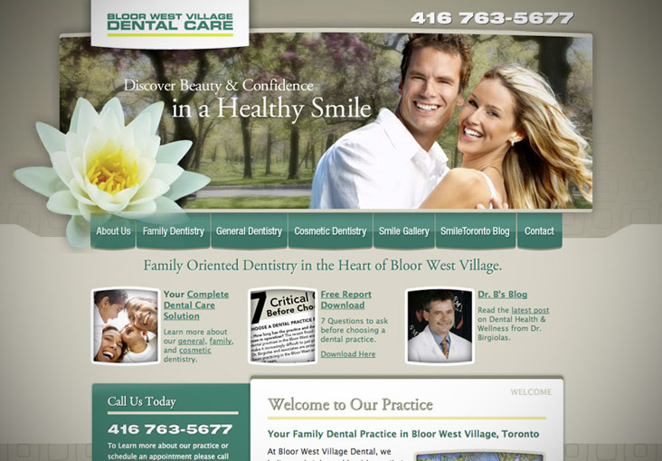 A great web design by Monarq Media, Toronto, Canada: