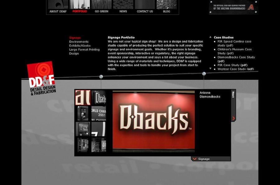 A great web design by Brandon Wright, Phoenix, AZ: