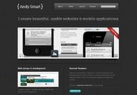 A great web design by Andy Smart, Birmingham, United Kingdom: