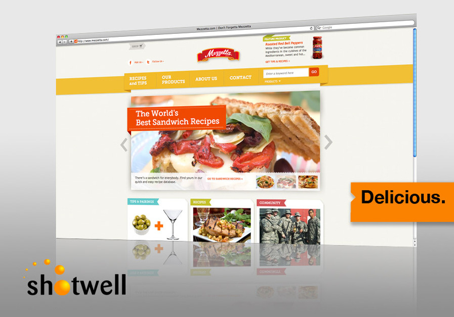A great web design by The Shotwell Company, San Francisco, CA: