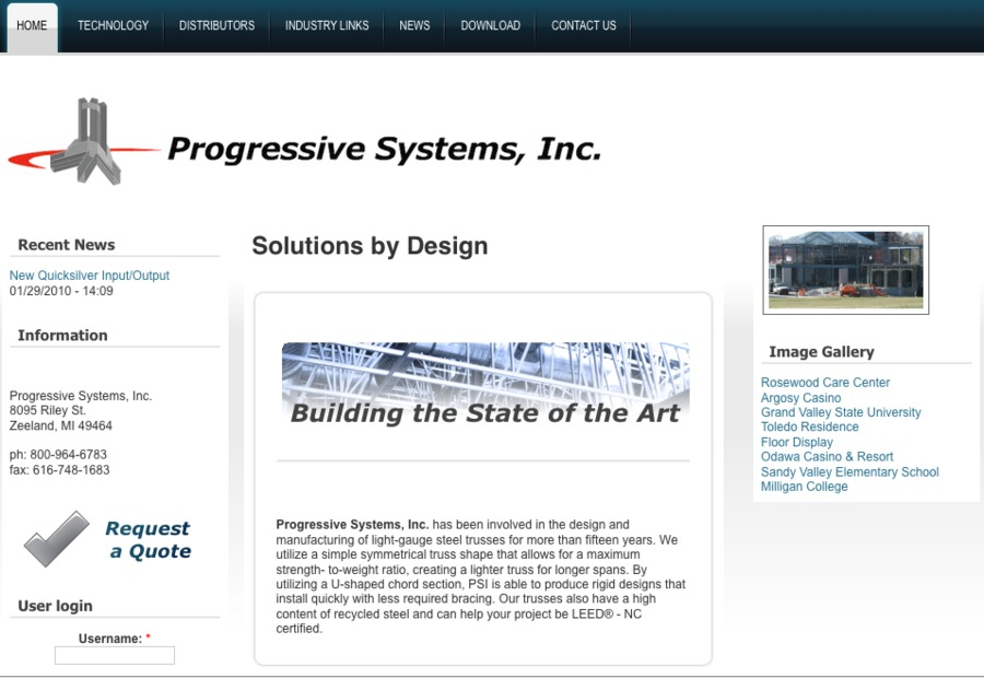 A great web design by Xelacomp LLC, Holland, MI: