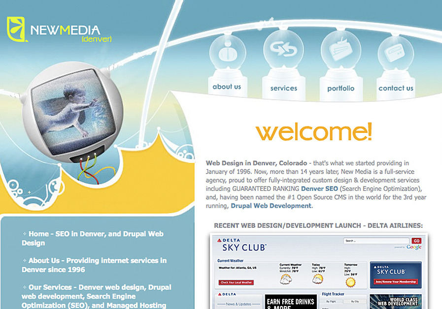 A great web design by NewMedia! (Denver), Denver, CO: