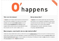 A great web design by O'happens, Leeuwarden, Netherlands:
