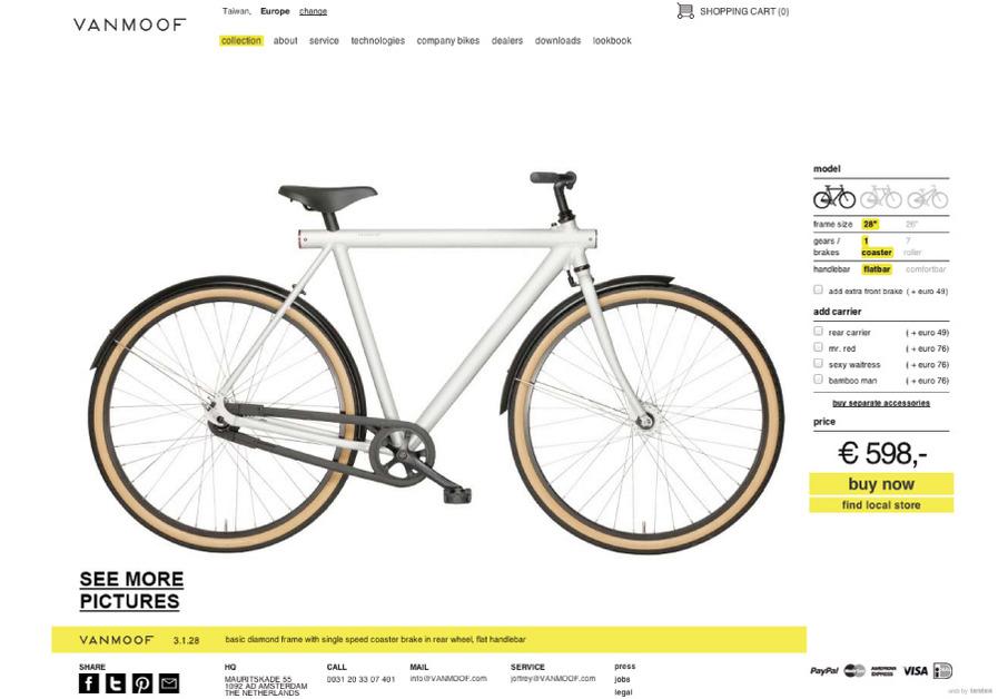 A great web design by tenten Creative, Taipei, Taiwan: