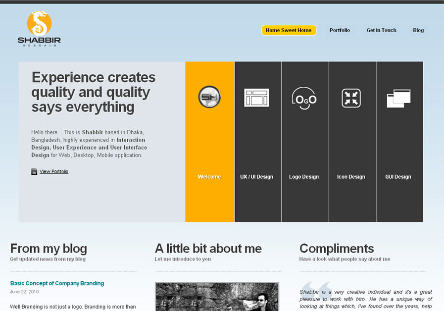 A great web design by Verge Vision, Dhaka, Bangladesh: