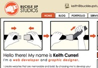 A great web design by Buckle Up Studios, Syracuse, NY: