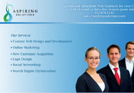 A great web design by Aspiring Solutions Designs, Chicago, IL: