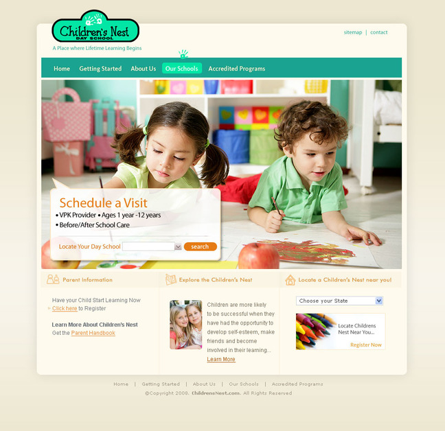 A great web design by Media Fusion, Tampa, FL: