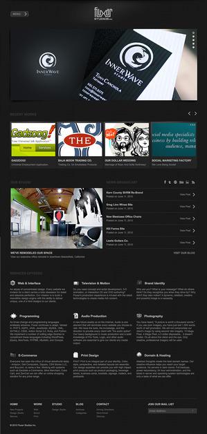 A great web design by Fluxar Studios, Los Angeles, CA: