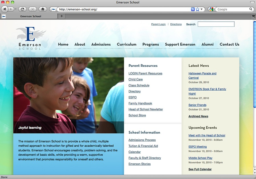 A great web design by Zengenuity, Ann Arbor, MI: