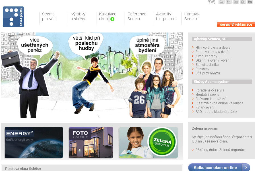 A great web design by RLWEB, Ostrava, Czech Republic:
