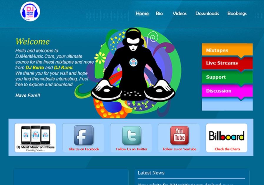 A great web design by Xpress97 Design Studio, Accra, Ghana: