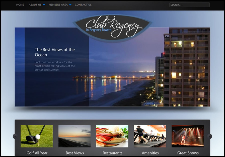 A great web design by NextMedia 360 Myrtle Beach: