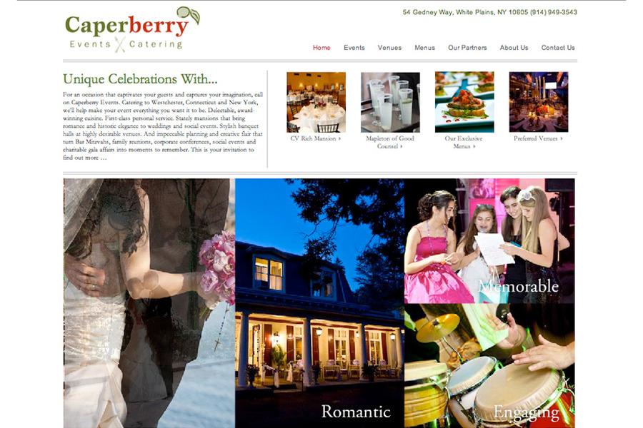 A great web design by Create & Associates, Inc., New York, NY: