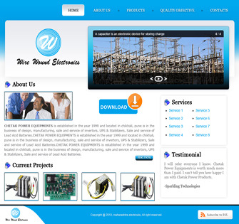 A great web design by Sparkling Technologies, Pune, India: