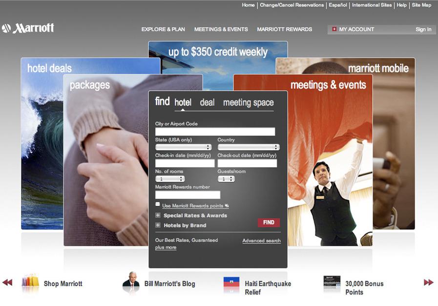 A great web design by Visual Room Inc., Washington, DC: