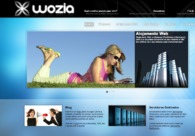 A great web design by Wozia, OPorto, Portugal: