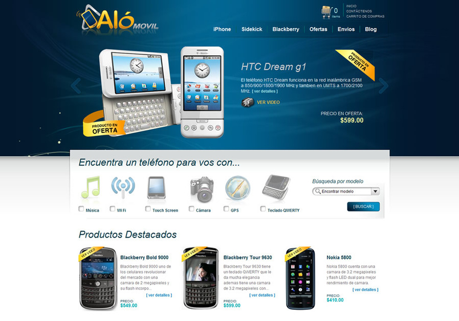 A great web design by InterGraphicDESIGNS, San Jose, Costa Rica: