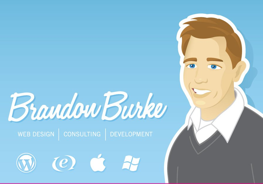 A great web design by Brandon Burke , Greensboro, NC:
