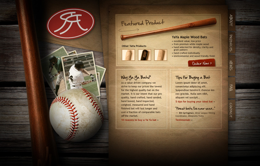 A great web design by AcrobatAnt, Tulsa, OK: