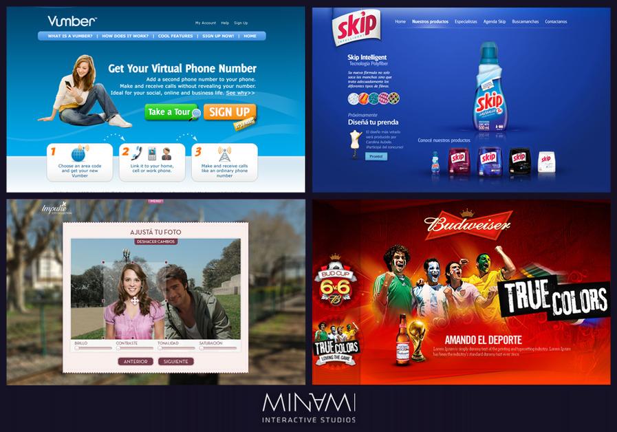 A great web design by Minami Studios, Seattle, WA: