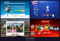 A great web design by Minami Studios: