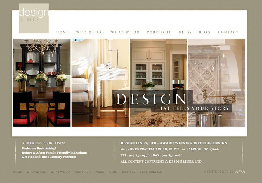 A great web design by Everest Agency, Raleigh, NC: