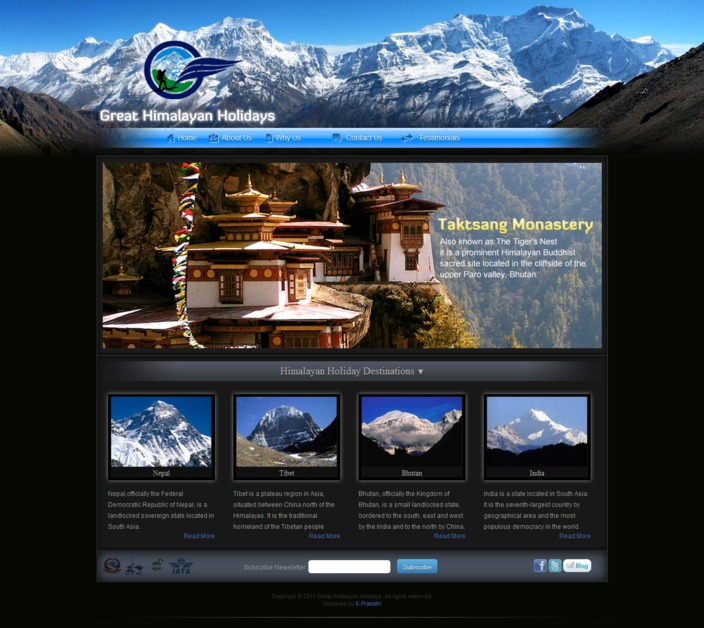 A great web design by EPrabidhi, Kathmandu, Nepal: