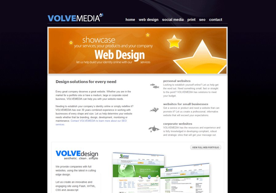 A great web design by Volvemedia, Orlando, FL: