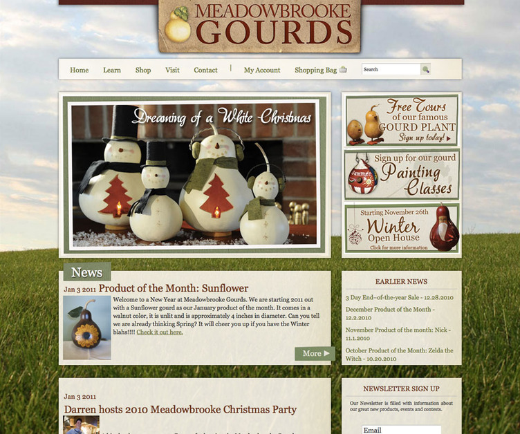 A great web design by 717 Studios, LLC, Harrisburg, PA:
