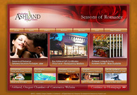 A great web design by Project A, Inc., Ashland, OR: