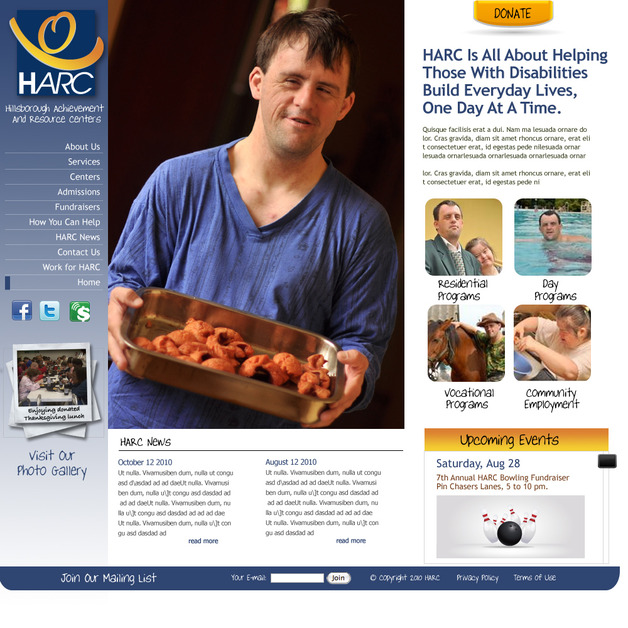 A great web design by IDEAS4, Tampa, FL: