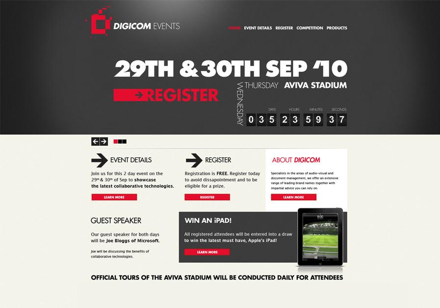 A great web design by Framework Design, Dublin  Ireland, Ireland: